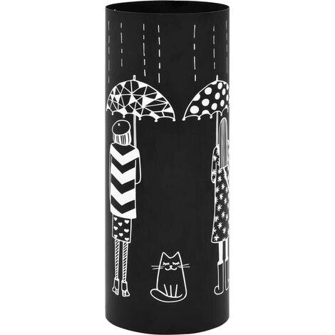 Hommoo Umbrella Stand Women Steel Black