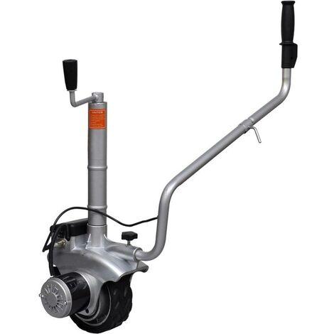 Hommoo Unité motorisée à roue pour roulotte Aluminium 12 V 350 W HDV26574