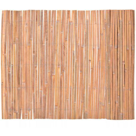 Hommoo Valla de bambú 100x400 cm