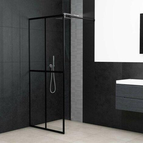 Hommoo Walk-in Shower Screen Tempered Glass 118x190 cm