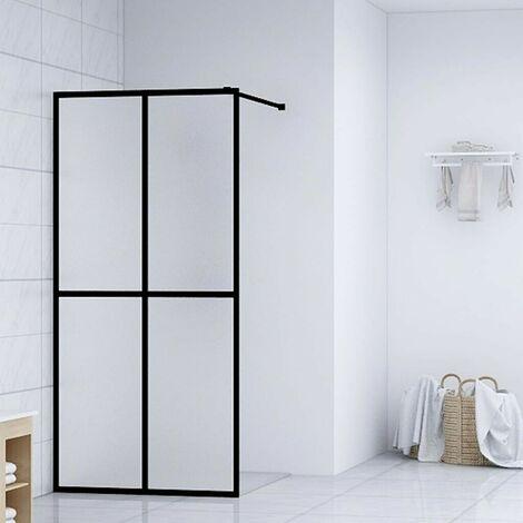 Hommoo Walk-in Shower Screen Tempered Glass 90x195 cm