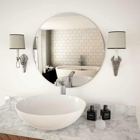 Hommoo Wall Mirror 60 cm Round Glass VD11653