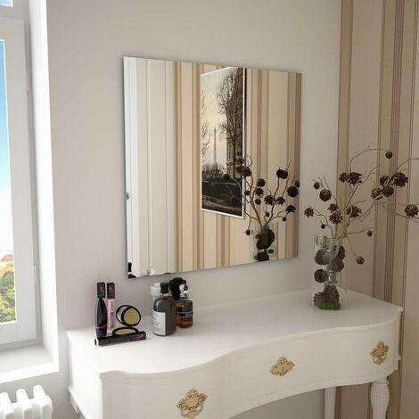 Hommoo Wall Mirror 70x70 cm Square Glass VD11650