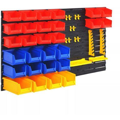 Hommoo Wall-Mountable Garage Tool Organiser VD04849
