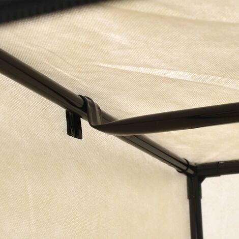 Hommoo Wardrobe Cream 75x50x160 cm QAH23552