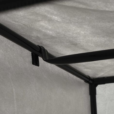 Hommoo Wardrobe Grey 75x50x160 cm QAH23553