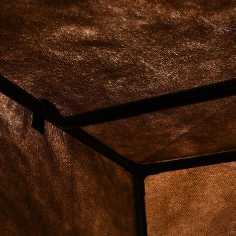 Hommoo Wardrobes 2 pcs Brown 75x50x160 cm QAH23555