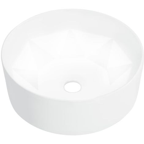 Hommoo Wash Basin 36x14 cm Ceramic White