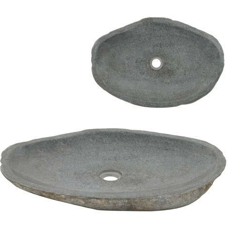 Hommoo Wash Basin River Stone Oval 60-70 cm VD04809