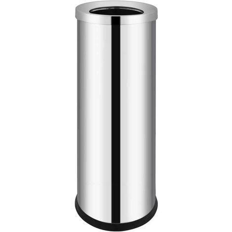 Hommoo Waste Bin Hotel Stainless Steel 32 L VD30851