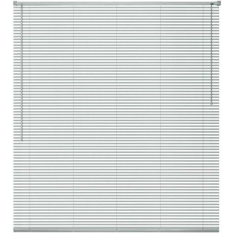 Hommoo Window Blinds Aluminium 100x130 cm Silver VD09448