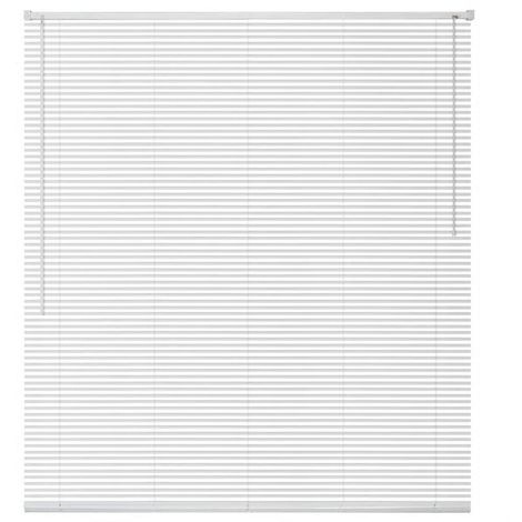 Hommoo Window Blinds Aluminium 140x160 cm White VD09438