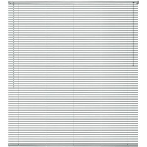Hommoo Window Blinds Aluminium 60x130 cm Silver VD09446