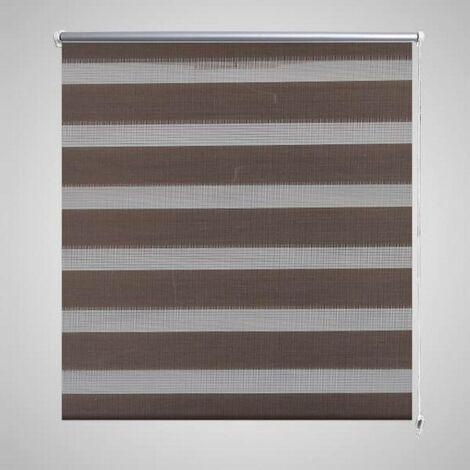 Hommoo Zebra Blind 50 x 100 cm Coffee VD08112