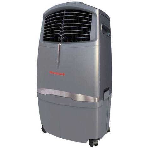Honeywell CL30XC Rafraichisseur d'air 123W | 25m² | 30L | Mode Sleep | Telecommande | 3 Vitesses | sur Roues