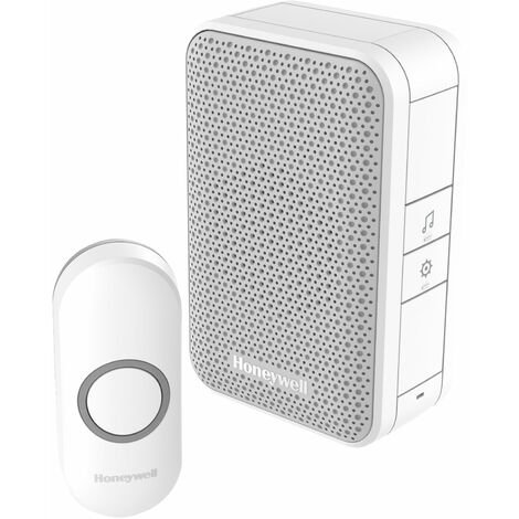 Honeywell DC311N WF Chime Kit 150m 4 Tunes 80dB White Doorbell