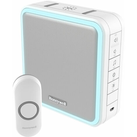 Honeywell DC915N WF Chime Kit 200m 8 Tunes 90dB LED White Doorbell