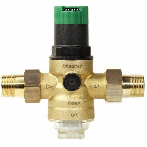 Honeywell Druckminderer - Serie D06F mit Verschraubung - DVGW