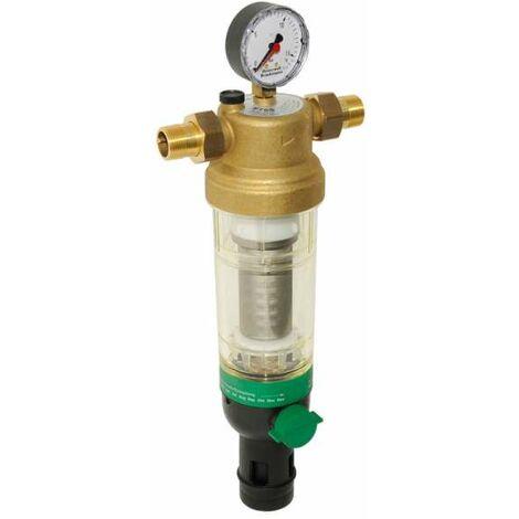 Honeywell Home Hauswasser-Feinfilter F76S Messing, AA, R 1/2″