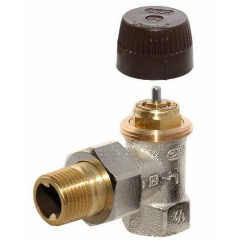 "Honeywell Thermostatventil FV Eck DN 15 1/2"" V2000EFV15"