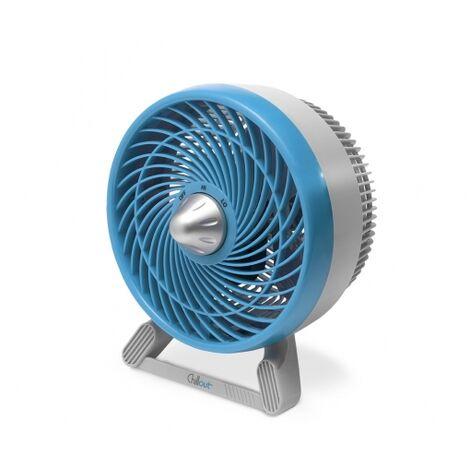 Honeywell Ventilador de mesa Chillout Azul, 2 velocidades