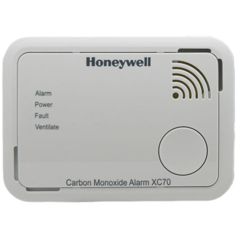 Honeywell XC70 Carbon Monoxide Alarm Detector Latest X-series 7 Yr