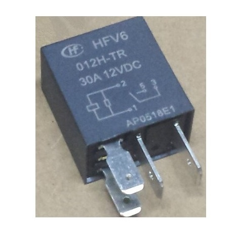 Hongfa 012H-TR - Relais HFV6 - 12Vdc 30A