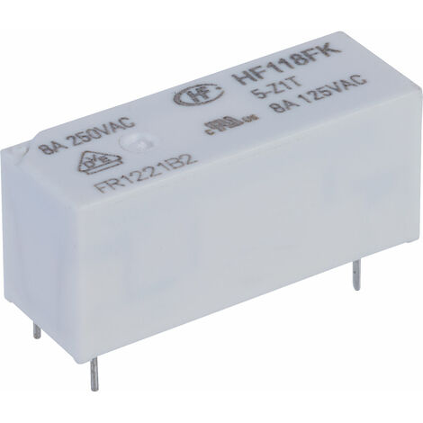 Hongfa HF118FK/5-Z1T PCB Relay 5VDC SPDT 8A