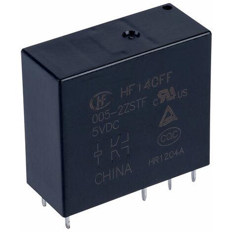 Hongfa HF140FF/005-2ZSTF PCB Relay 5VDC DPDT 10A