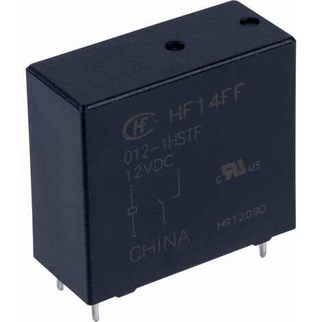 Hongfa HF14FF/012-1HSTF PCB Relay 12VDC SPST-NO 10A