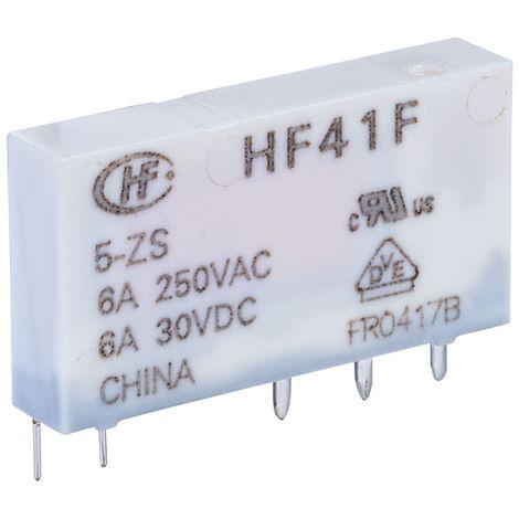 Hongfa HF41F/005-ZS PCB Relay 5VDC SPDT 6A
