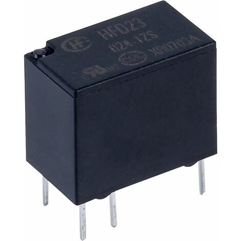 Hongfa HFD23/024-1ZS PCB Signal Relay 24DC SPDT 2A