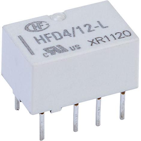 Hongfa HFD4/012-L PCB Signal Relay 12DC DPDT 2A
