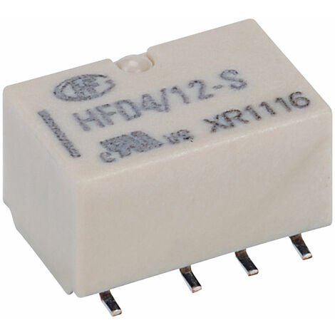 Hongfa HFD4/012-S PCB Signal Relay 12DC DPDT 2A SMT Type