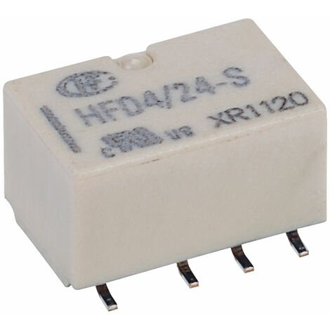 Hongfa HFD4/024-S PCB Signal Relay 24DC DPDT 2A SMT Type