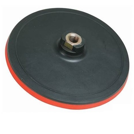 Hook & Loop Backing Pad - 125 x 10mm