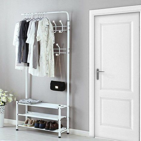 Hook Shelf for Shoe Garment