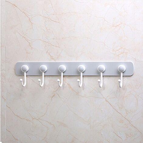 Hook towel rack hanger hook hook hook mural suction spoon bathroom hanger bathroom toilet