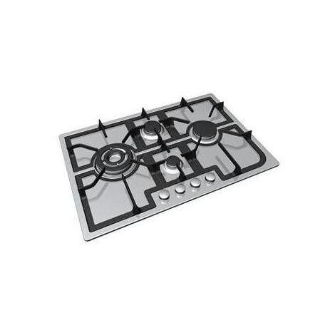 Hoover HGH74SQCP X Piano cottura a gas 4 fuochi 75 cm Inox