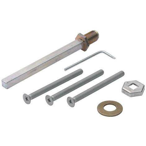 HOPPE Befestigungsset K/G Schnellstift 2210/3310 Wechselschutzgarnituren 8 x 100 mm 57-62 mm
