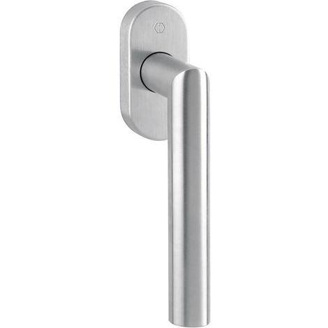 Aluminium mit Rasterung Fenstergriff Silber  1003 // 1035 // F2