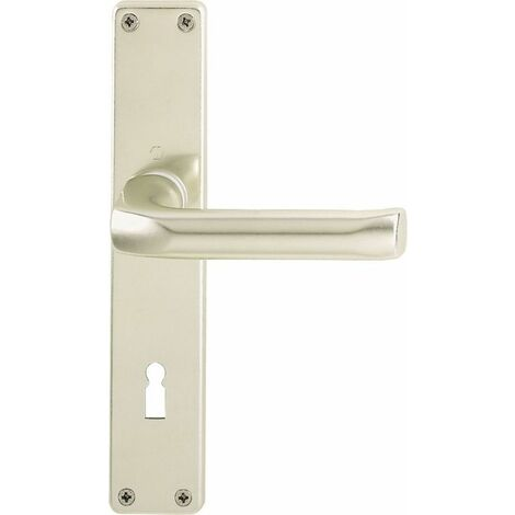 HOPPE Langschild-Garnitur London Aluminium Neusilber 113/202SP - 6675334