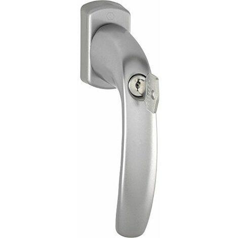 Hoppe Poignée de fenêtre New Yorksper rzyli thermique, 90, VK Effet en acier inoxydable 7x 40mm, 1pièce, 3426453