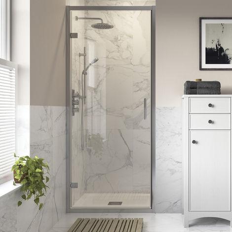 Horizon8 800mm Hinged Shower Door 8mm