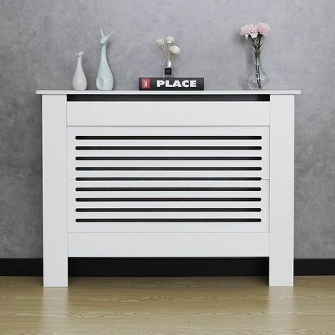 Horizontal Stripe Wood Modern Radiator Cover