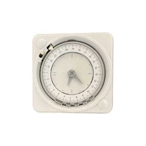 Horloge encastrée journalière - réserve de marche