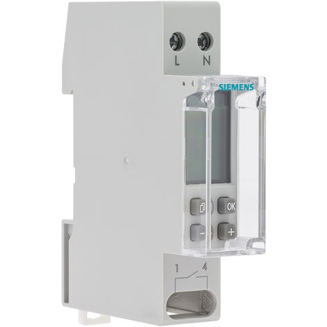 Horloge hebdomadaire digitale automatique 1 module - SIEMENS