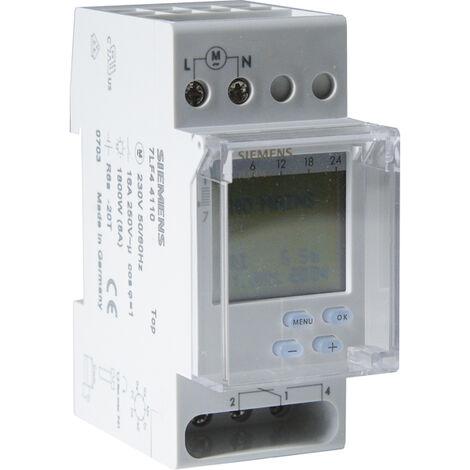Horloge hebdomadaire digitale automatique 2 modules - SIEMENS