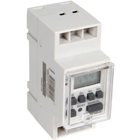 Horloge modulaire digitale gris - Debflex