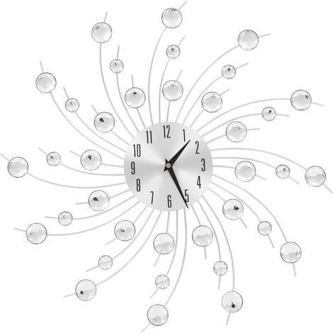 Horloge murale avec mouvement à quartz Design moderne 50 cm